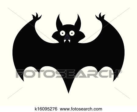 Silueta De Murcielago Para Halloween. Murcilago Silueta ...