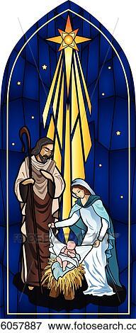 Nativity Clip Art | k16057887 | Fotosearch