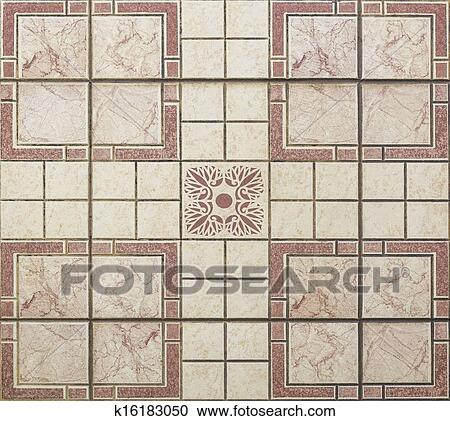 Old Seamless Floor Tiles Clipart K16183050 Fotosearch