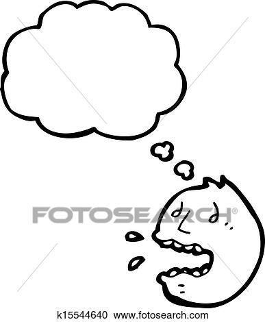 Clipart Of Panic Face Symbol K15544640 Search Clip Art