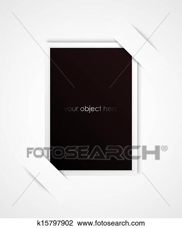 Clipart Of Photo Frame For Your Object K15797902
