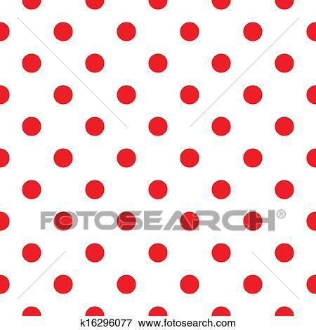 clip art of red polka dot seamless pattern design k16296077 search rh fotosearch com pink polka dot background clipart polka dot background clipart