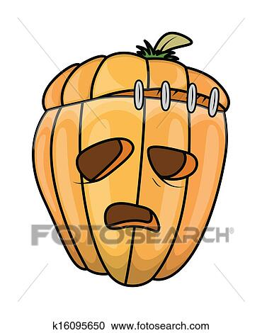 Scary Frankenstein Jack,O\u0027,Lantern Clipart