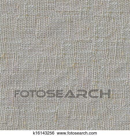 Seamless Texture Of Linen Textile