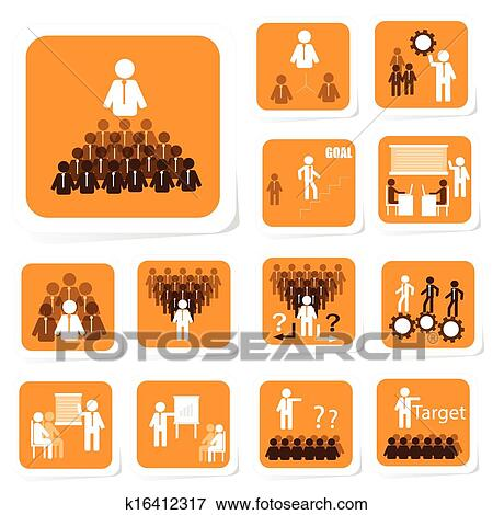 clip art of team building icon k16412317 search clipart rh fotosearch com Fun Team Building Clip Art team building clip art free