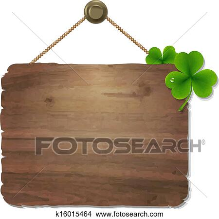 clipart of wooden sign k16015464 search clip art illustration rh fotosearch com wooden arrow sign clipart wooden sign clipart black and white