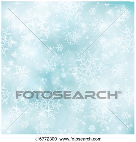 柔らかい そして Blurry パステル 青 冬 クリスマス パターン
