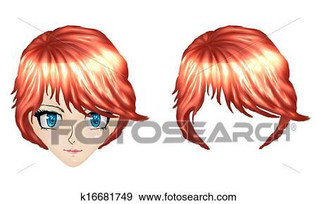 Anime ragazze capelli rossi