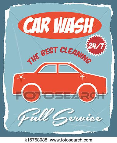 Car Wash Clip Art K16768088 Fotosearch