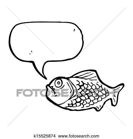 Dibujos - caricatura, piraña k15525874 - Buscar Clip Art ...