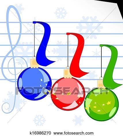 Christmas Music Clipart.Christmas Music Clipart