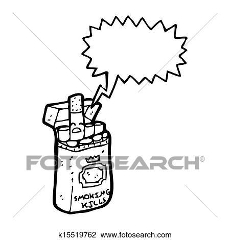 Dessin Paquet De Cigarette clipart - cigarette, paquet, dessin animé k15519762 - recherchez des