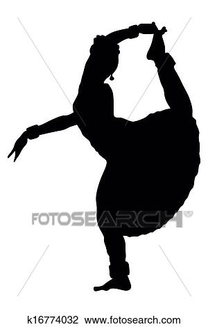 clipart of indian dancing k16774032 search clip art illustration rh fotosearch com indian clipart free indian clipart to print