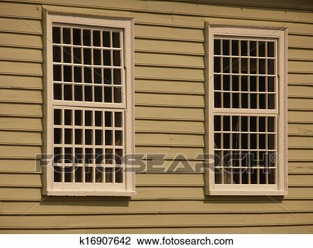 stock photo of lattice windows k16907642 search stock photography