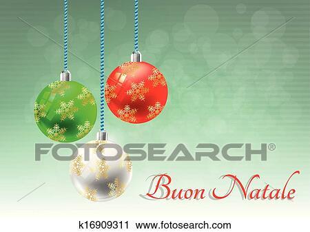 Buon Natale Italia.Natale Italia Clipart K16909311 Fotosearch