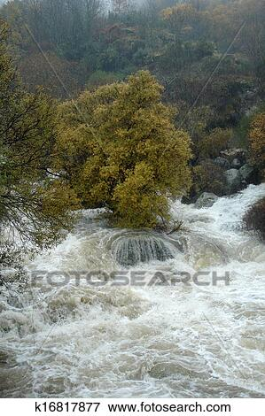 picture of water torrent k16817877 search stock photography rh fotosearch com Clip Art Nothing Urgent Clip Art