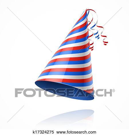 Clipart - cappello partito. Fotosearch - Cerca Clipart 24db2c30fd68