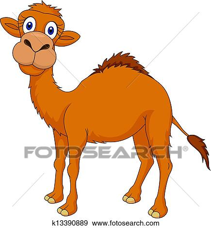 Clip Art Cute Camel Cartoon Fotosearch Search Clipart Illustration Posters Drawings