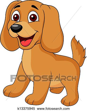 clip art of cute puppy cartoon k14799667 - search clipart