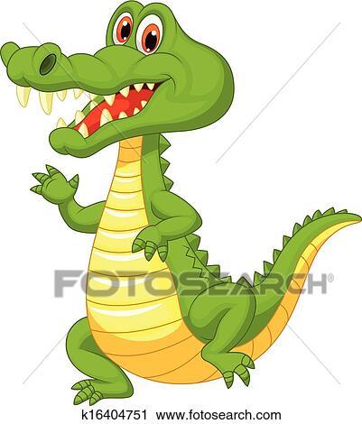Clipart mignon crocodile dessin anim k16404751 recherchez des clip arts des - Dessin anime les crocodiles ...