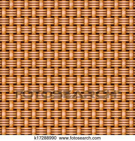 Clipart of wicker basket weaving pattern seamless texture ...