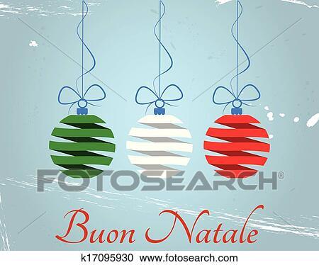 Buon Natale Italia.Natale Italia Clipart K17095930 Fotosearch