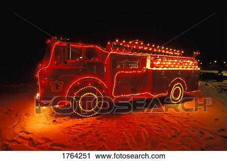 Fireman Christmas Lights