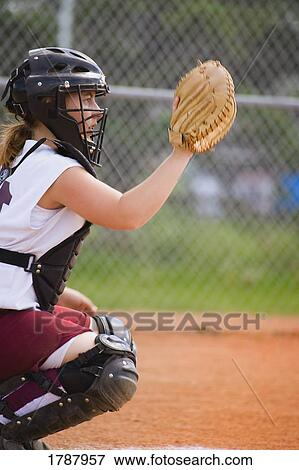Picture Of Back Catcher 1787957 Search Stock Photography Photos