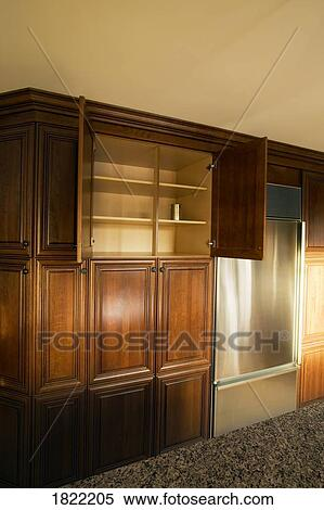 Küche- schrank Stock Fotografie | 1822205 | Fotosearch