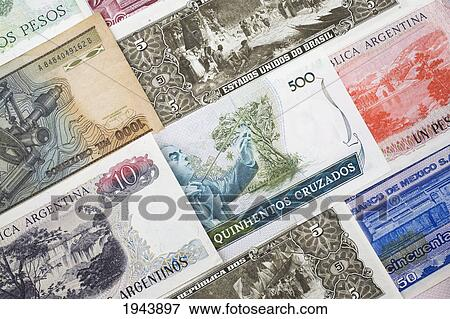 Orted Foreign Currency Bank Notes