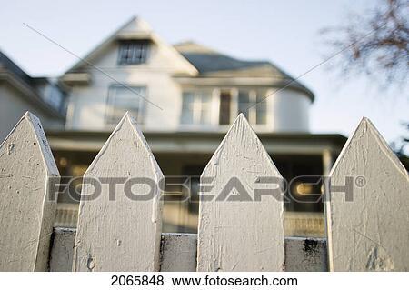 Bilder Zaun Vor A Haus Manitoba Kanada 2065848 Suche