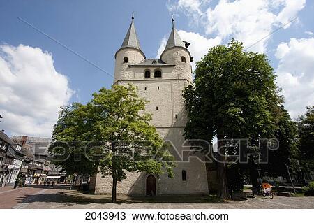 Jacobite Church, Goslar, Germany Stock Image