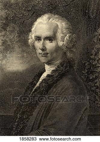 Jean Jacques Rousseau 1712 1778 Swiss Philosopher Photo