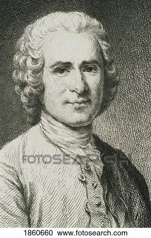Jean Jacques Rousseau 1712 To 1778 Swiss Philosopher From