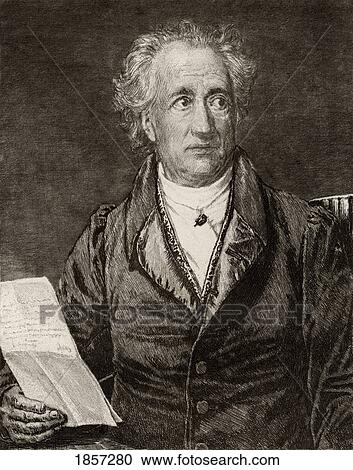 Johann Wolfgang Von Goethe 1749 1832 German Writer From
