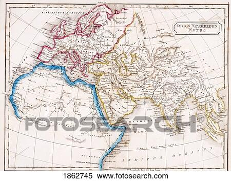 Map Of Europe Northern Africa And Western Asia Orbis ...