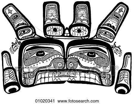 Island Pacific Northwest Clip Art Clipart Vector Design