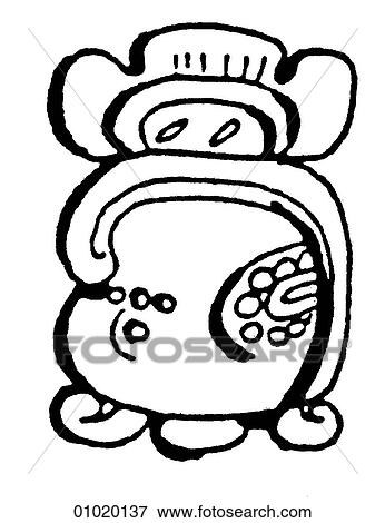 Stock Illustration Of Signs Symbols Line Art Symbols