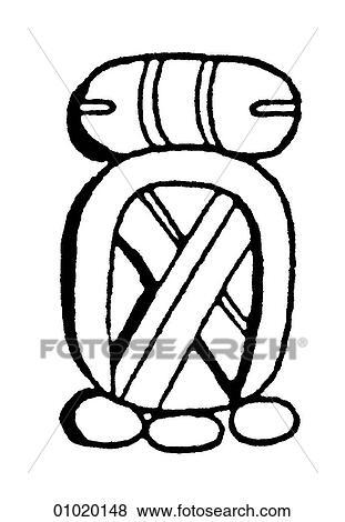 Stock Illustration Of Signs Symbols Line Art Symbols