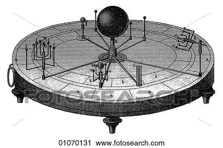 Line Art Of Sun : Clipart of science & medicine line art scientific astronomy an
