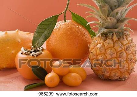 banque de photographies fruit exotique orange et. Black Bedroom Furniture Sets. Home Design Ideas