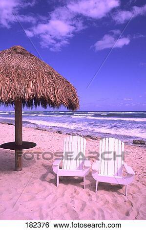 Beach Cozumel Yucatan Mexico
