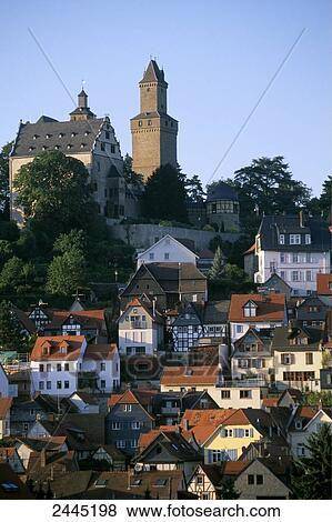 Pictures Of Houses With Castle In City Kronberg Hochtaunuskreis