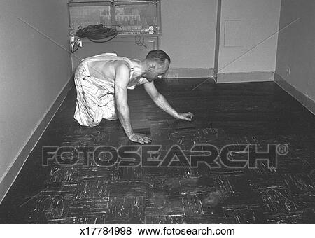 Pictures Of Man Laying Tiles On Floor Bw X17784998 Search