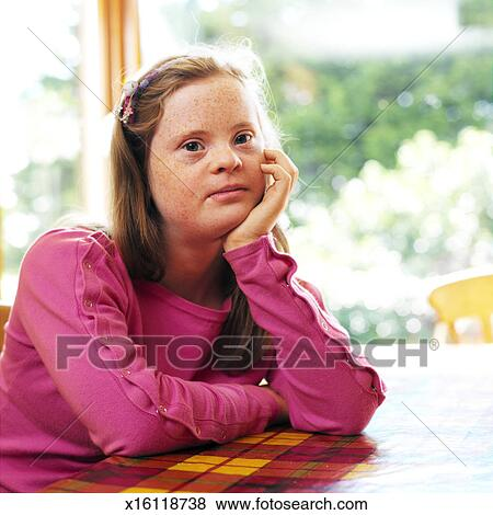 down syndrome teenage girl naked