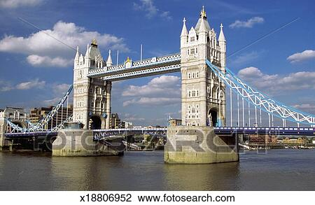 Pont Tour Londres Sur Riviere Tamise Londres Angleterre Banque D Image