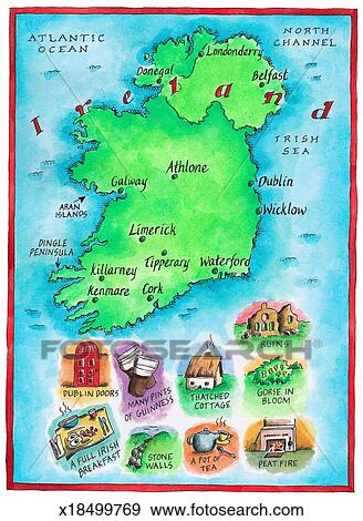 Map of Ireland Stock Illustration Illustration Map Of Ireland on map of netherlands, map of european countries, map of japan, map of britain, map of british isles, map of dublin, map of skellig islands, map of denmark, map of united kingdom, map of ring of kerry, map of united states, map of prince edward island, map of eastern hemisphere, map of yugoslavia, map of northeast us, map of sweden, map of scotland, map of london, map of hong kong, map of philippines,