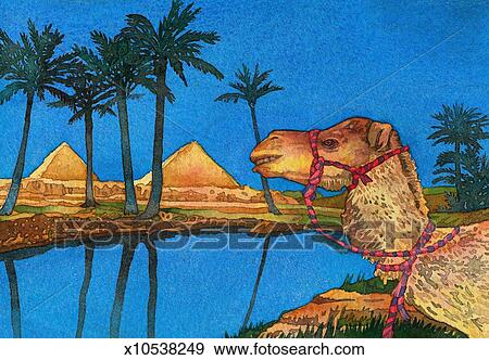 Stock Illustration Of Nile River X10538249 Search Vector