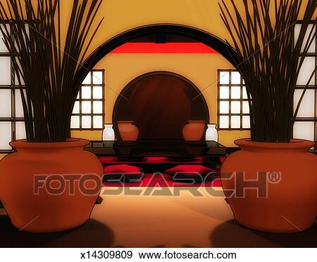 イラスト - 反響室 x14309809 - ...