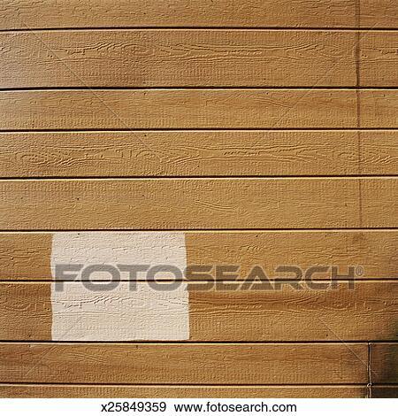 Stock Fotograf Malen Quadrat Auf Holz Wand X25849359 Suche